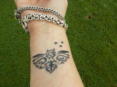 owl wrist tattoo pics - Google Search