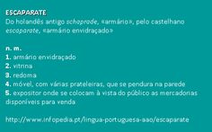 escaparate @ Infopédia. http://www.infopedia.pt/lingua-portuguesa-aao/escaparate