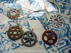 steampunk ornaments | Steam Ingenious: Steampunk Christmas Ornaments