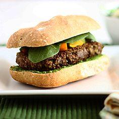 Quinoa-Lentil Burger