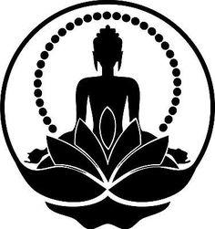 Moon buddha louisa on wannado! Art Buddha, Buddha Drawing, Buddha Painting, Buddha Artwork, Buddha Tattoos, Buddha Tattoo Design, Mandala Art, Mandala Painting, Yoga Art