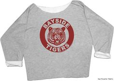 Saved by the Bell Kelly Kapowski Bayside Tigers sweatshirt? Be still my heart.