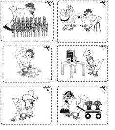 Little Red Hen Activities Worksheets | Figure 2 (graphics2.jpg)