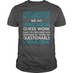 Awesome Tee For Sign Language Interpreter T Shirts, Hoodies, Sweatshirts. CHECK PRICE ==►…