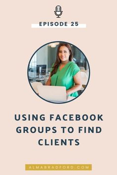 Did you know that Facebook groups are a great place to find clients for your marketing or B2B service? In this episode I explain a few techniques you can use to fill up your client roster. Content Marketing Strategy, Business Marketing, Social Media Marketing, Facebook Marketing, Business Checks, Business Tips, Online Business, Creative Business, Using Facebook For Business