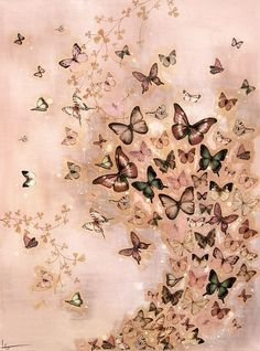 By Lily Greenwood. Butterfly Drawing, Butterfly Fairy, Butterfly Painting, Butterfly Wallpaper, Cute Wallpapers, Wallpaper Backgrounds, Butterfly Pictures, Beautiful Butterflies, Painting Inspiration