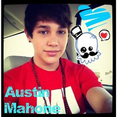 Everybody,this is my new boyfriend his name is Austin Mahone