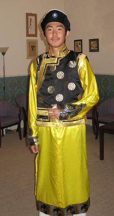 Mongolia traditional dress,male - Google Search