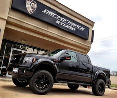 The Ford F-Series is a series of full-size pickup trucks from the Ford Motor Company which has been sold continuously since 1948. The most popular variant of the F-Series is the F-150