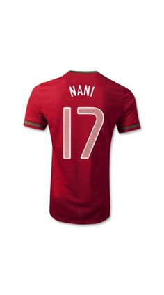 e21736b3c54 Discount Thailand Quality 2012 Euro Cup Portugal NANI 17 Home soccer  football shirts