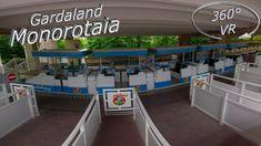 Gardaland 2019 Monorotaia 360° VR Onride Vr, Outdoor Decor