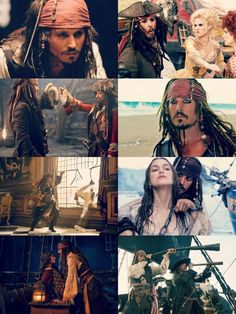 Escapades of the beautiful and swashbuckling Captain Jack Sparrow, my personal hero and role model.