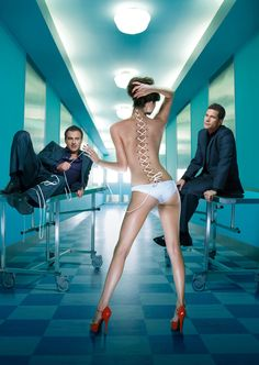 American drama series created by Ryan Murphy (2003-2010 FX). Christian Troy & Sean McNamara - Plastic surgery