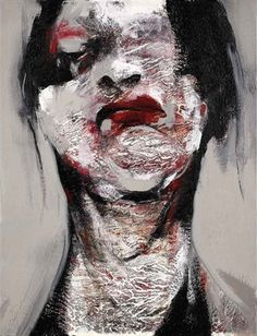 2008 LYONE, Lita Cabellut (b1961, born a gipsy girl in the streets of El Raval in Barcelona, Cabellut was adopted at the age of 13)...