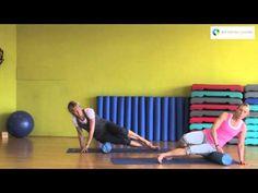 Faszien-Massage mit der Pilates Rolle - YouTube
