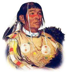 Chippewa (Objiwe) Plains Indian