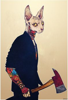Anthropomorphic cat Character Inspiration, Character Art, Arte Hip Hop, Mode Blog, Dope Art, Cat Tattoo, Furry Art, Cat Art, Bunt