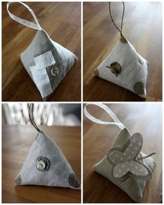 Inspiration - Chic scented sachets