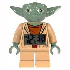 LEGO Kids' 9003080 Star Wars Yoda Minifigure Clock. Want it? Own it? Add it to your profile on unioncy.com #gadgets #electronics #tech #clocks