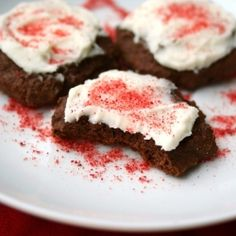 low carb/gluten free chocolate peppermint cookies