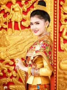 Traditional lao clothing