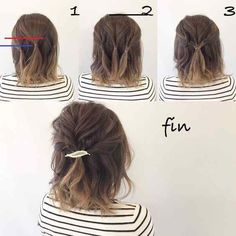 10 Easy Hairstyles To Mix It Up - #shortupdohairstyles - Every day is not the same. Some days you're motivated, while some days you just want to trudge past it. Every time I'm having one of those dreadful days, I do something different like wear a new nose pin, wear something different to work, wing my liner a little, do my hair in a new way, etc. But it's not always easy to do something different with your hair coz let's face it, most of us do not know which partition goes where and do not…