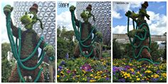 Goofy Topiary at the Flower and Garden 2015