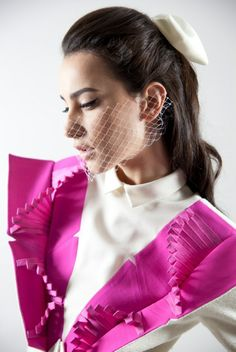 """Marta Cucciniello past collection,""""Beyond Apparency""""  http://blog.martacucciniello.com/post/84499247869/past-collection-a-look-at-beyond-apparency"""