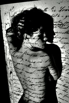 Write your words my body...