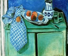 Matisse- Still Life with Green Sideboard