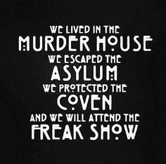 American Horror Story Coven Quotes. QuotesGram