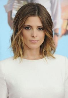 Side-center part, shoulder bob and ombre, what a great look to ring in the New Year with! 5 Hairstyles for Summer 2015