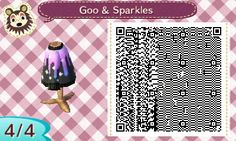 "wonder-crossing: "" Another pastel goth sweater, this time with sparkling ombro goo! Have fun with it! I suggest wearing the bone pants or the pep-squad skirt with it! """