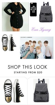 """""""Day with BTS"""" by kpop-lover97 ❤ liked on Polyvore featuring Converse"""