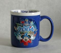 Disneyland Sorcerer Mickey Mouse 2004 12 Ounce Coffee Mug Disney Theme, Disney Love, Disney Kitchen Decor, Disney Mugs, Candy Dishes, Framed Artwork, Disneyland, Mickey Mouse, Coffee Mugs