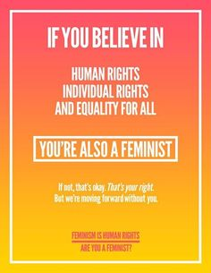 Are You A #Feminist? You Do Not Need To Be Female To Be Feminist! It Is All About To Be Equal! www.womenpla.net