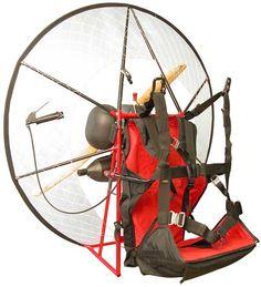 Miniplane Paramotor, Mini-Plane Powered Paraglider, Top 80 Motor - the lightest paramotor available! www.Miniplane-USA.com