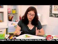 Aprenda pintura em tecido com Lucimar