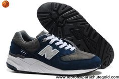 New Balance NB 999 Seal Grey White deepBlue For Men shoes Casual shoes Shop