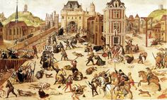 François Dubois (1529–1584) was a French Huguenot painter who was born in Amiens. His only surviving work is the best known depiction of the Saint Bartholomew's Day massacre of 1572, when French Catholics killed French Protestants (Huguenots) in Paris. It is not known whether Dubois himself was present at the event but a close relative, the surgeon Antoine Dubois, died in the slaughter. Dubois fled to Lausanne to escape the persecution of the Huguenots