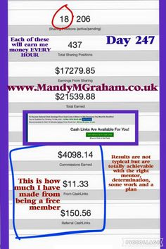 #workfromhome Day 247  Free to join! Easy as 1,2,3  1- Sign in daily View 10 member websites (this earns you credits to get your own site advertised for free) 2- Collect your free money by clicking cash links 3- Buy ad packs   For more info or if you would like to join simply message me or sign up via this link - IT'S FREE so no risk! Earn from day 1 - www.mmgtm.moonfruit.com