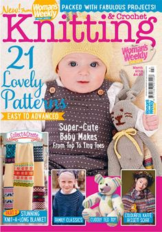 New March issue of Woman's Weekly's Knitting & Crochet Special