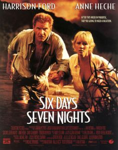 Six Days Seven Nights (1998) movie #poster, #tshirt, #mousepad, #movieposters2