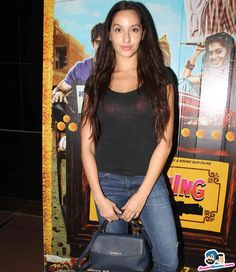 Nora Fatehi Picture Gallery image # 353409 at Screening of Film Running Shaadi containing well categorized pictures,photos,pics and images. Bollywood Girls, Bollywood Actors, Iron Man Wallpaper, Bollywood Pictures, Most Beautiful Women, Indian Beauty, Indian Actresses, Singer, Film
