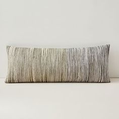 Silk Ombre Striations Bolster Pillow Cover #westelm