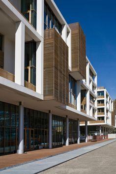 Tortona 37, multi-purpose complex, Milano, Itale designed by Matteo Thun & Partners, Luca Colombo