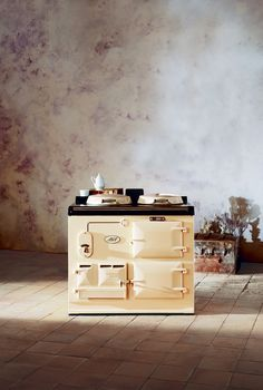 Heart of the home. Classically styled heat storage cast-iron range cooker by Aga.
