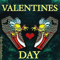 #Repost @devilishdandies  Check out @devilishdandies and buy the best V-DAY gift for your significant other and get lucky  Shop link in bio or go to http://ift.tt/2gdO4rQ . . . . #devilishdandies #treehouseofhorror #pins #stickers #enamalpins #evil #killer #follow #gremlins #horror #mattgroening #stickerapp #cartoons #simpsonspins #collector #pingram #pinsofig #thethingwithtwoheads #stickerpack #instagood #worldofspringfield #hatpins #lapelpins  #pinstagram #simpsonscollections    (Posted by…