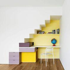Bureau Sous Escalier escalier Pinterest Bureau sous escalier
