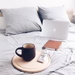 on the bed, coffee, coffeelover, flatly